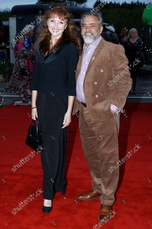 Stock Photo of (L-R) Melanie Walters with Kevin Allen