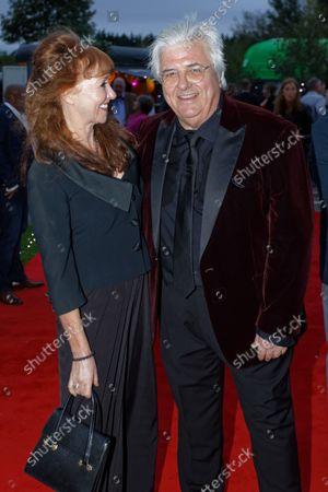 (L-R) Melanie Walters and composer Mark Thomas