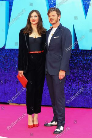 Stock Picture of Sophie Ellis-Bextor (L) and Richard Jones attend the 'Everybody's Talking About Jamie' film premiere at the Royal Festival Hall in London, Britain, 13 September 2021. The film is due to be released in Britain from 17 September 2021.