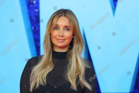 Louise Redknapp attends the 'Everybody's Talking About Jamie' film premiere at the Royal Festival Hall in London, Britain, 13 September 2021. The film is due to be released in Britain from 17 September 2021.