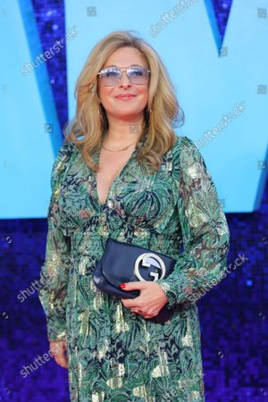 British television actress Tracy-Ann Oberman attends the 'Everybody's Talking About Jamie' film premiere at the Royal Festival Hall in London, Britain, 13 September 2021. The film is due to be released in Britain from 17 September 2021.