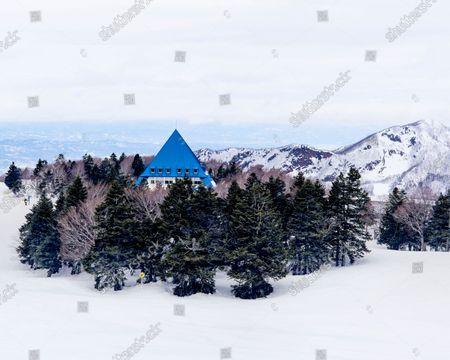 Todomatsu restaurant, at the Zao Onsen ski resort in Yamagata, Japan.