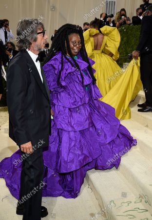 """Stock Picture of Pierpaolo Piccioli, left, and Whoopie Goldberg attend The Metropolitan Museum of Art's Costume Institute benefit gala celebrating the opening of the """"In America: A Lexicon of Fashion"""" exhibition, in New York"""