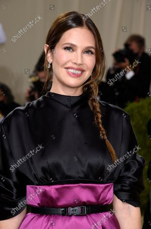 """Stock Image of Dasha Zhukova attends The Metropolitan Museum of Art's Costume Institute benefit gala celebrating the opening of the """"In America: A Lexicon of Fashion"""" exhibition, in New York"""