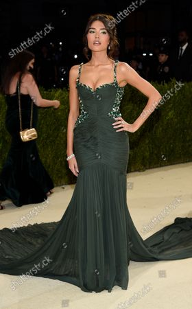 """Madison Beer attends The Metropolitan Museum of Art's Costume Institute benefit gala celebrating the opening of the """"In America: A Lexicon of Fashion"""" exhibition, in New York"""