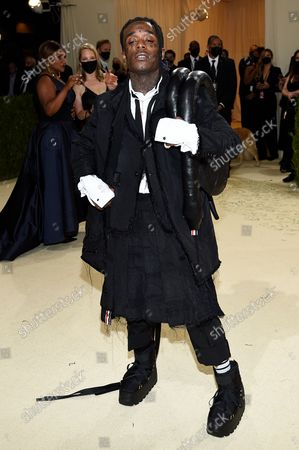 """Lil Uzi Vert attends The Metropolitan Museum of Art's Costume Institute benefit gala celebrating the opening of the """"In America: A Lexicon of Fashion"""" exhibition, in New York"""