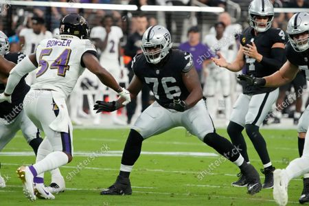Editorial photo of Ravens Raiders Football, Las Vegas, United States - 13 Sep 2021