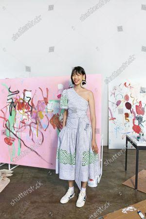 Editorial image of Ready to wear summer 2022, New York, USA, Tanya Taylor - 08 Sep 2021
