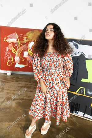 Editorial photo of Ready to wear summer 2022, New York, USA, Tanya Taylor - 08 Sep 2021