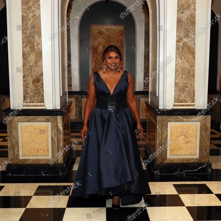 Editorial picture of Mindy Kaling departs the St. Pierre Hotel for he MET Gala, New York, USA - 13 Sep 2021