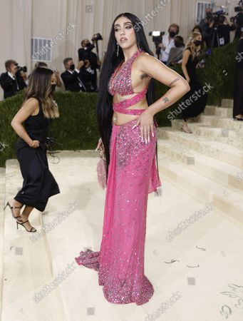 Lourdes Maria Ciccone Leon poses on the red carpet for the 2021 Met Gala, the annual benefit for the Metropolitan Museum of Art's Costume Institute, in New York, New York, USA, 13 September 2021. The event coincides with the Met Costume Institute's first two-part exhibition, 'In America: A Lexicon of Fashion' which opens 18 September 2021, to be followed by 'In America: An Anthology of Fashion' which opens 05 May 2022 and both conclude 05 September 2022.