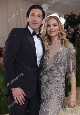 Adrien Brody and Georgina Chapman