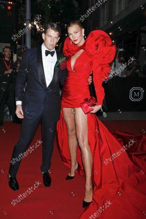 Wes Gordon and Karlie Kloss