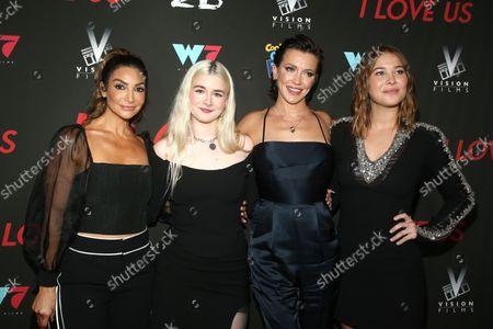 Courtney Mazza, Harlow Jane-Arquette, Katie Cassidy and Jasper Polish