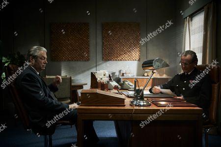 Anton Lesser as Chief Super Reginald Bright and Roger Allam as DI Fred Thursday.