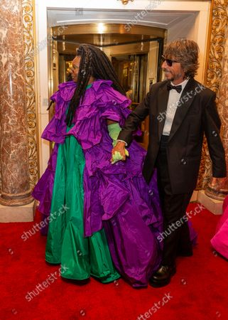 Editorial photo of Met Gala 2021 departures from The Pierre hotel, New York, United States - 12 Sep 2021