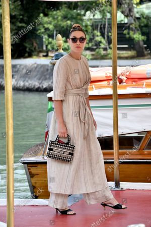 Editorial photo of 78th Venice Film Festival 2021, Celebrity Excelsior Arrivals, Italy - 05 Sep 2021