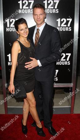 Jim Parrack and wife Ciera Parrack