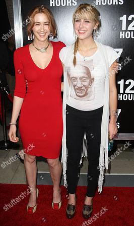 Madeline Zima and Yvonne Zima