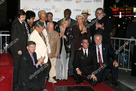 Roger Williams, Mickey Rooney, Jan Rooney, Diane Ladd, Jim Ladd and Bob Barker