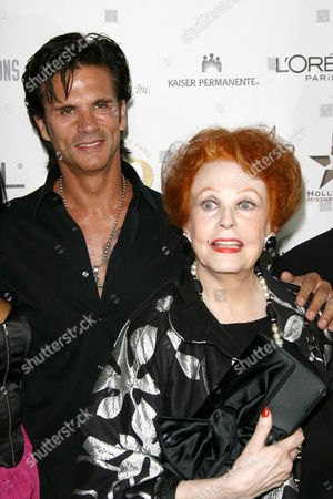 Lorenzo Lamas and Arlene Dahl