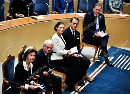 Editorial photo of Opening of Parliament, Stockholm, Sweden - 14 Sep 2021