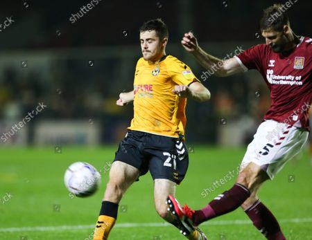 Editorial picture of Newport County v Northampton Town, Sky Bet League 2 - 14 Sep 2021