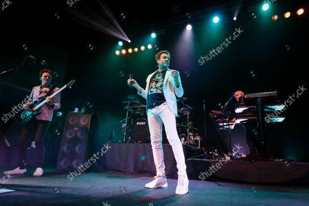 Duran Duran - John Taylor, Simon Le Bon and Nick Rhodes