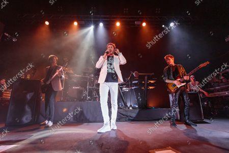Duran Duran - John Taylor, Simon Le Bon and Dominic Brown