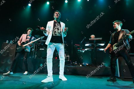 Duran Duran - John Taylor, Simon Le Bon, Nick Rhodes and Dominic Brown