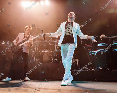 Duran Duran - John Taylor and Simon Le Bon