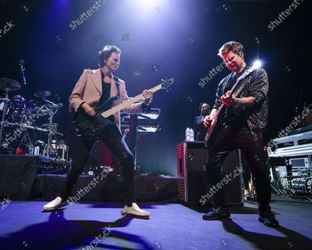 Duran Duran - John Taylor and Dominic Brown