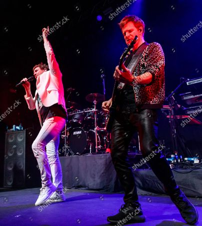 Duran Duran - Simon Le Bon and Dominic Brown