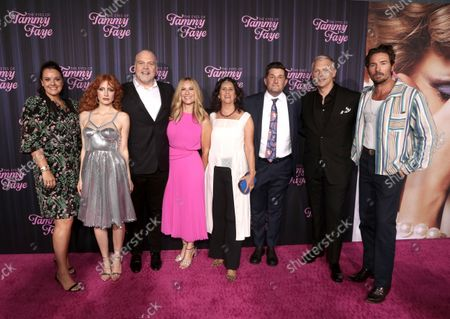 Editorial photo of Searchlight Picture's 'The Eyes of Tammy Faye' film premiere,  New York, USA - 14 Sep 2021
