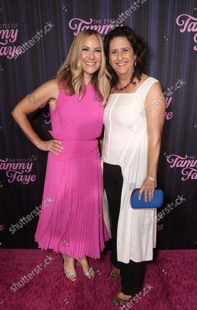 Rachel Shane and Gigi Pritzker