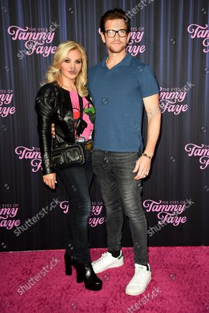 Editorial picture of 'The Eyes of Tammy Faye' film premiere, Arrivals, New York, USA - 14 Sep 2021