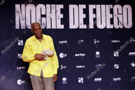 Stock Picture of Danny Glover poses on the red carpet during the premiere of the film 'Noche de Fuego' in Mexico City, Mexico, 14 September 2021. Personalities from the world of cinema attended the red carpet event at the Los Pinos Cultural Complex for the premiere of the film 'Noche de Fuego' by director Tatiana Huezo.