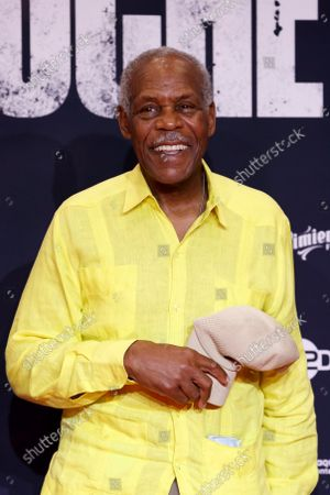 Danny Glover poses on the red carpet during the premiere of the film 'Noche de Fuego' in Mexico City, Mexico, 14 September 2021. Personalities from the world of cinema attended the red carpet event at the Los Pinos Cultural Complex for the premiere of the film 'Noche de Fuego' by director Tatiana Huezo.