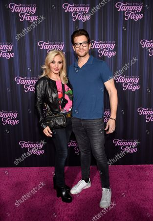"""Editorial photo of NY Premiere of """"The Eyes of Tammy Faye"""", New York, United States - 14 Sep 2021"""