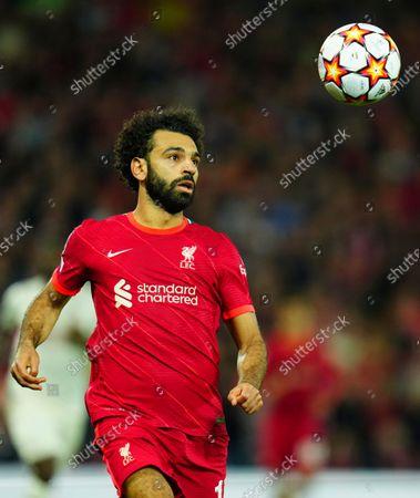 Mohamed Salah of Liverpool