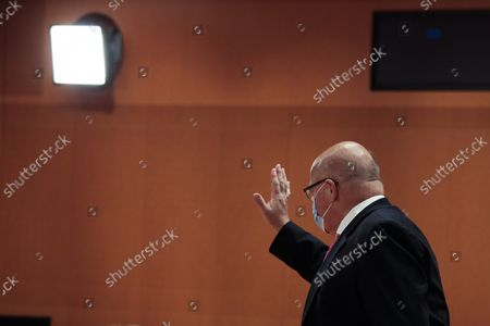Editorial image of Weekly Government Cabinet Meeting in Berlin, Germany - 15 Sep 2021
