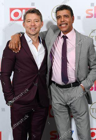 Ben Shepherd and Chris Kamara