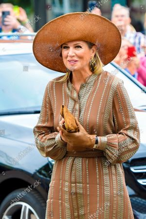 Queen Maxima opens House of Culture, Hoogezand