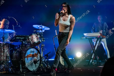 Editorial image of K. Flay in Concert at Headliners Music Hall, Headliners Music Hall, Louisville, USA - 14 Sep 2021