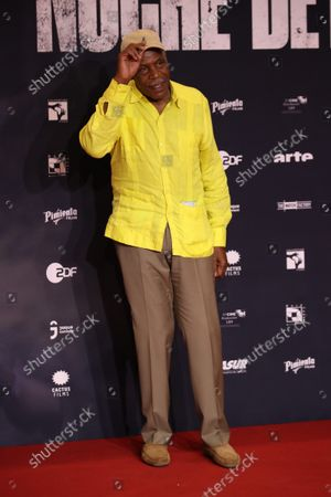 Actor Danny Glover poses for photos during the red carpet of the 'Noche de Fuego' film premier at Complejo Cultural los Pinos