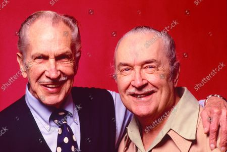 Vincent Price and Forrest Ackerman