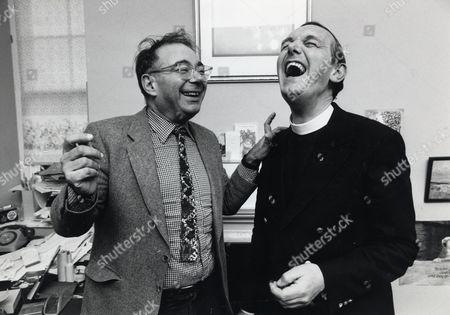 Rabbi Lionel Blue Seen Here With The Rev Roger Royle