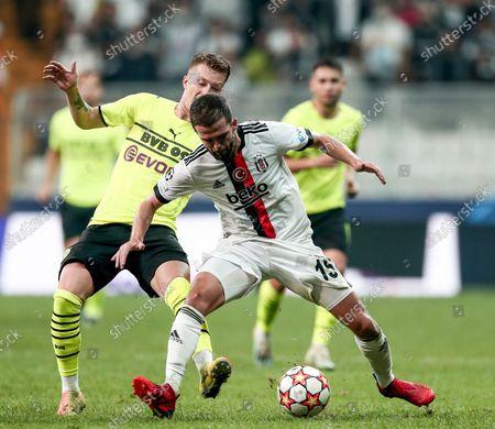 Editorial picture of Besiktas Istanbul vs Borussia Dortmund, Turkey - 15 Sep 2021