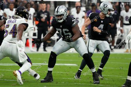 Editorial image of Ravens Raiders Football, Las Vegas, United States - 13 Sep 2021