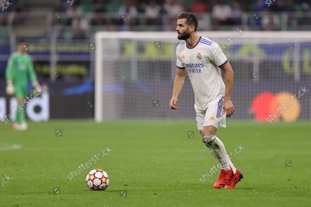 Nacho Fernandez of Real Madrid CF in action